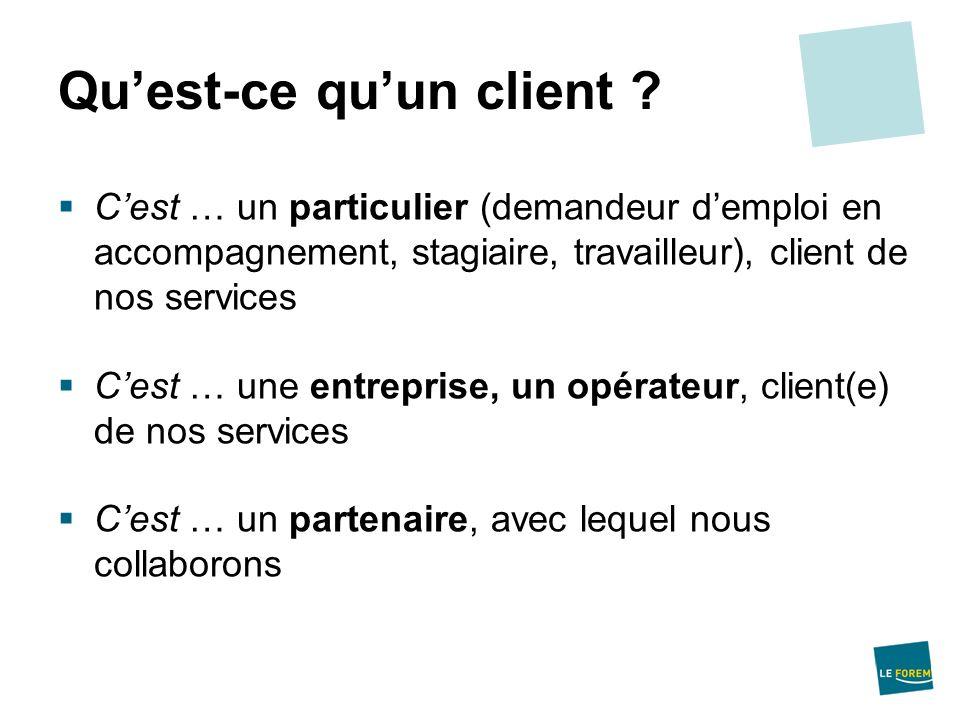 Qu'est-ce qu'un client