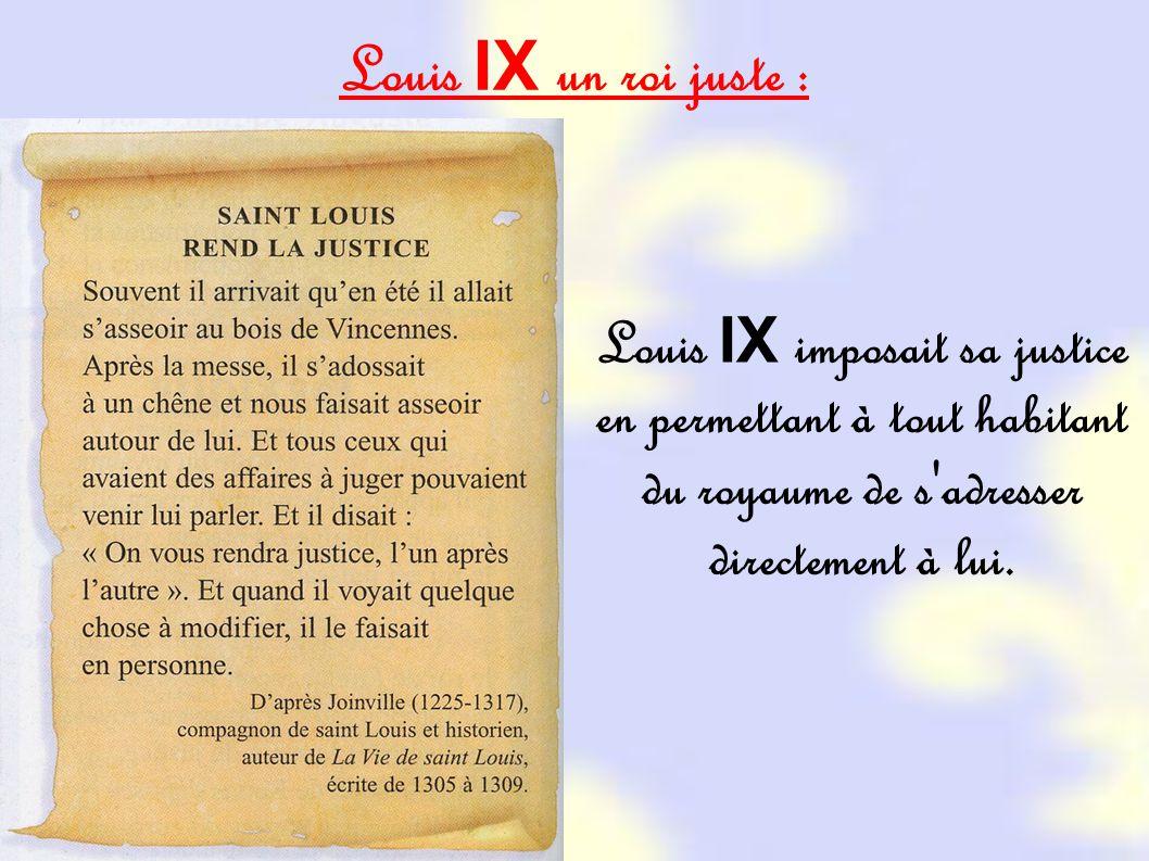 Louis Ix Un Roi Juste