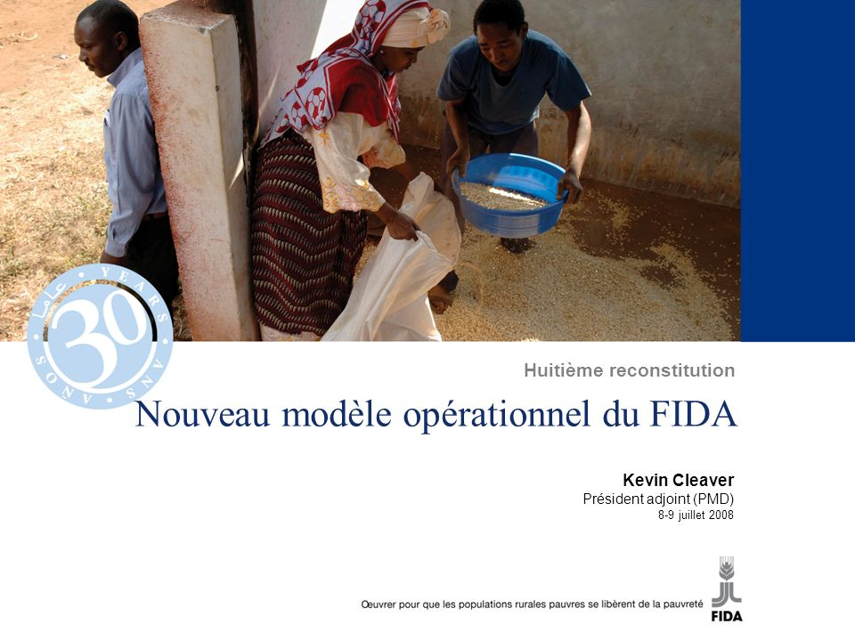 Nouveau modèle opérationnel du FIDA