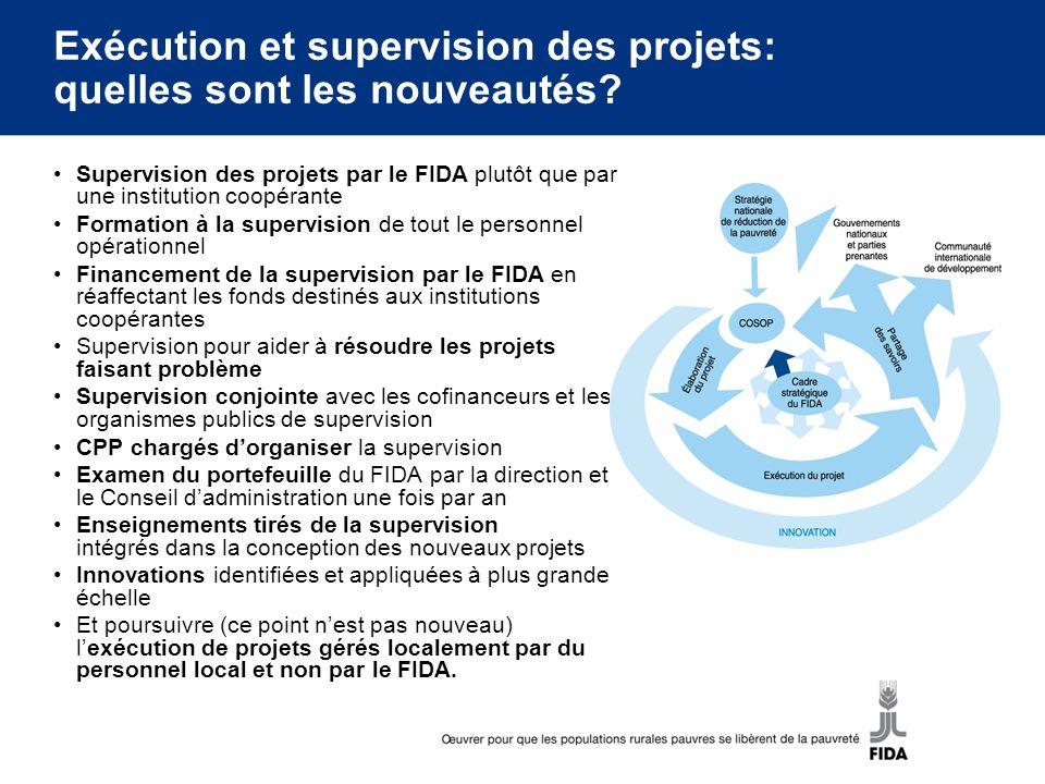 Exécution et supervision des projets: quelles sont les nouveautés