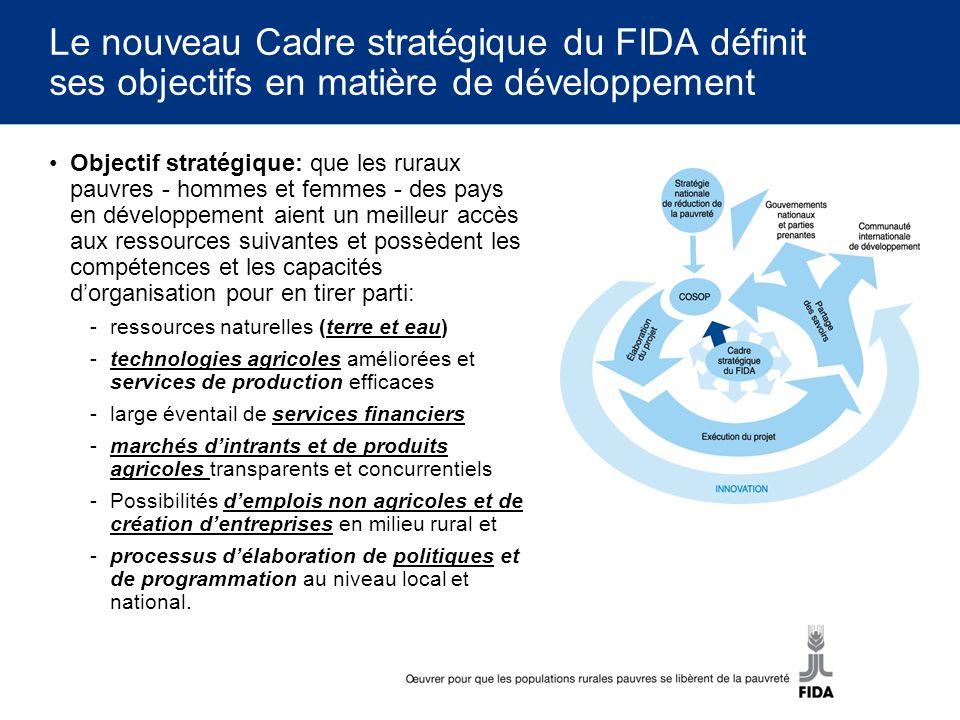 Le nouveau Cadre stratégique du FIDA définit ses objectifs en matière de développement