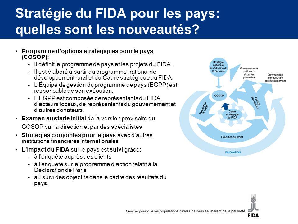Stratégie du FIDA pour les pays: quelles sont les nouveautés