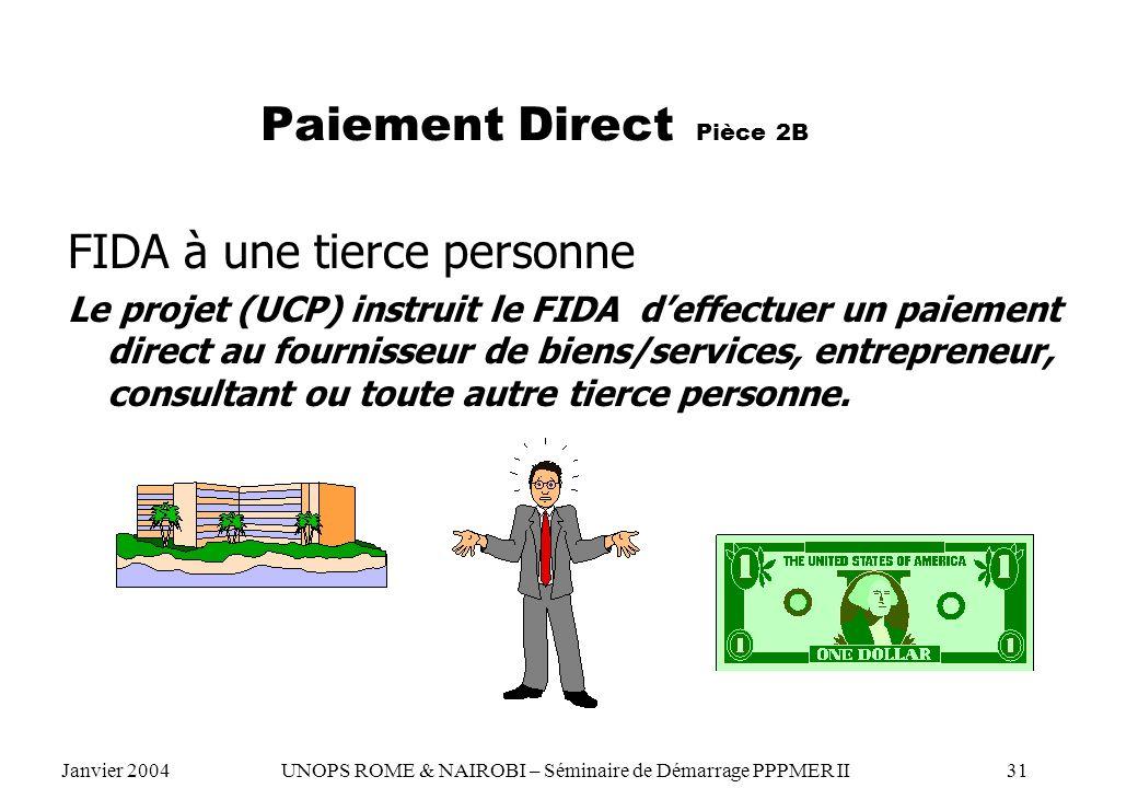 Paiement Direct Pièce 2B