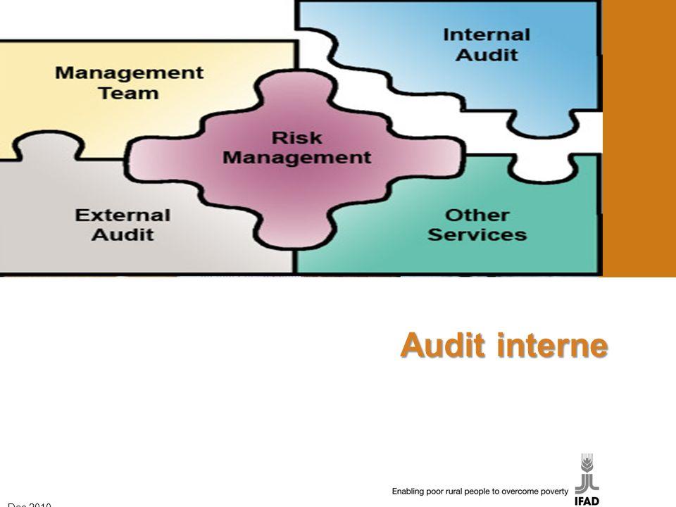Audit interne Dec 2010 1