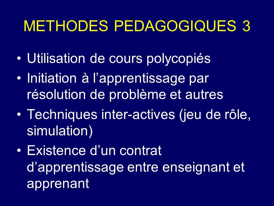 METHODES PEDAGOGIQUES 3