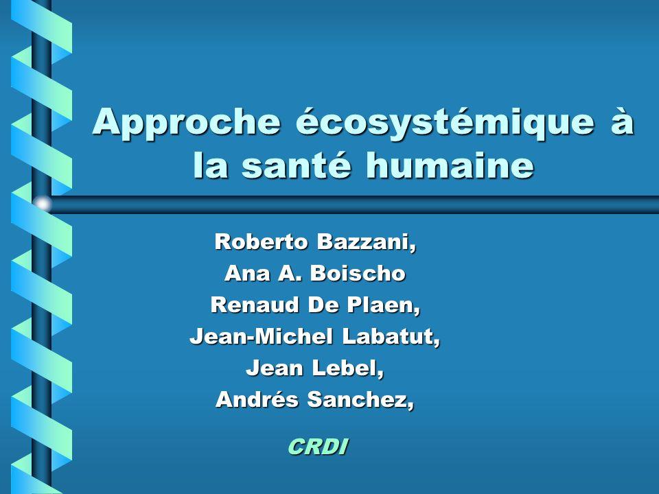 Approche écosystémique à la santé humaine