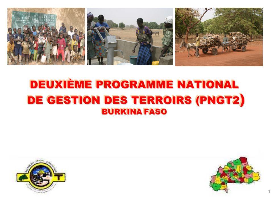 DEUXIÈME PROGRAMME NATIONAL DE GESTION DES TERROIRS (PNGT2) BURKINA FASO