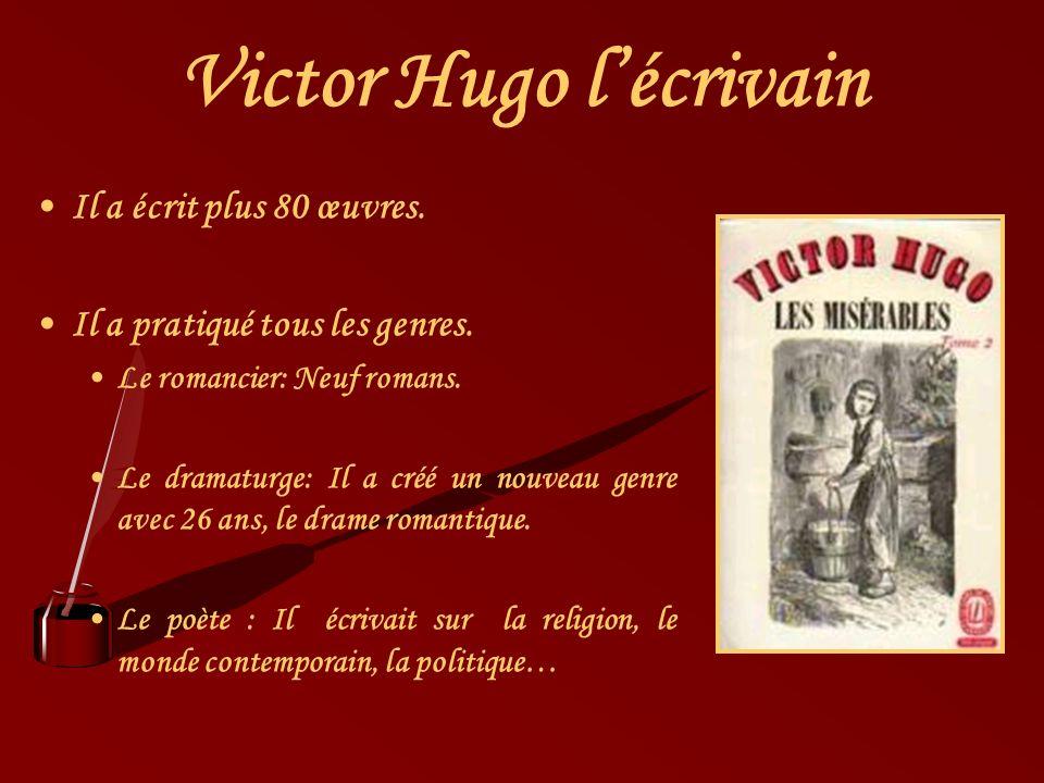 Victor Hugo l'écrivain