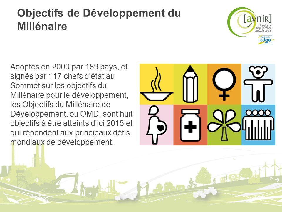 Objectifs de Développement du Millénaire