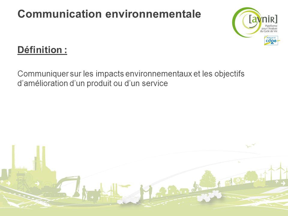 Communication environnementale