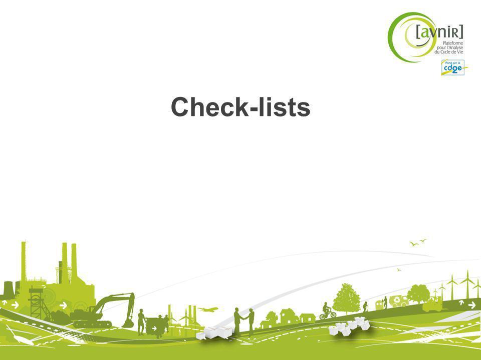 Check-lists