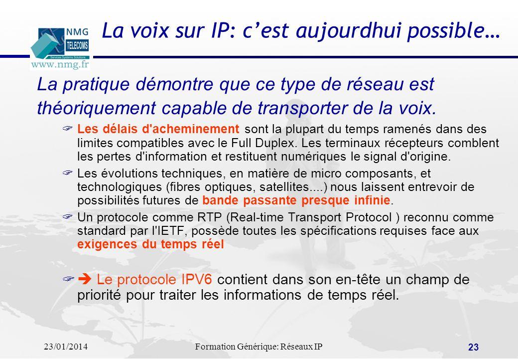 La voix sur IP: c'est aujourdhui possible…