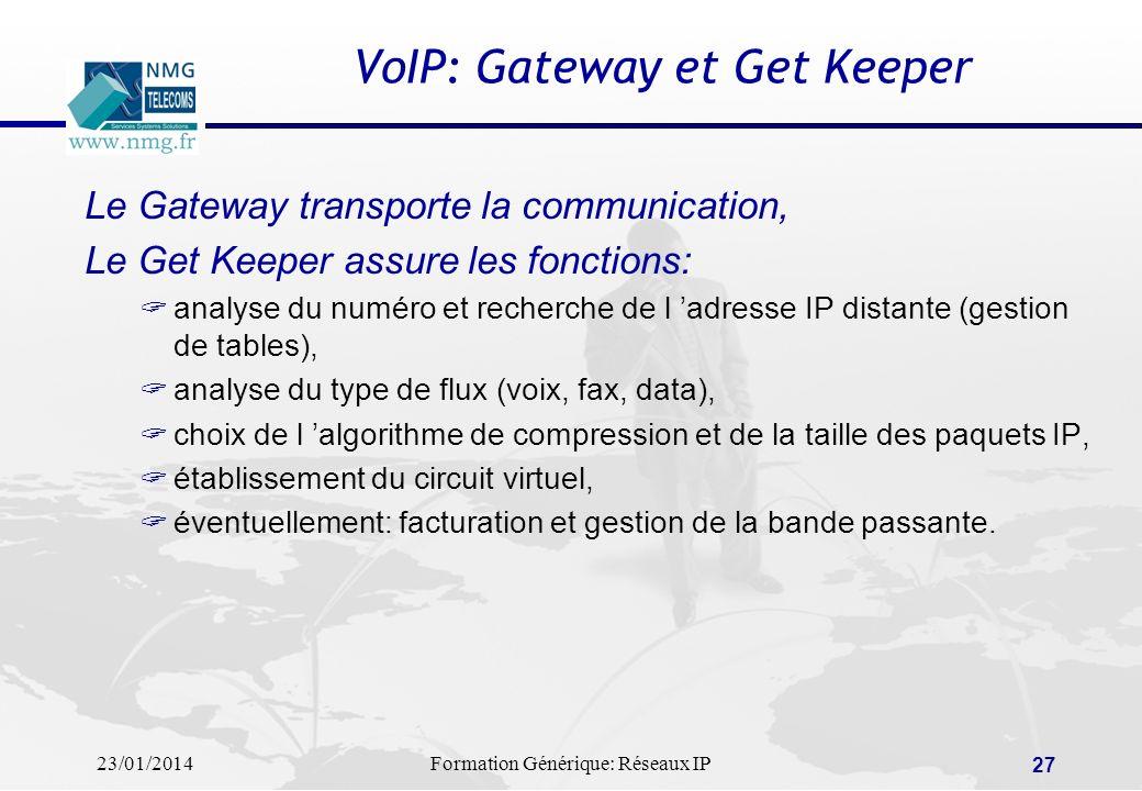 VoIP: Gateway et Get Keeper