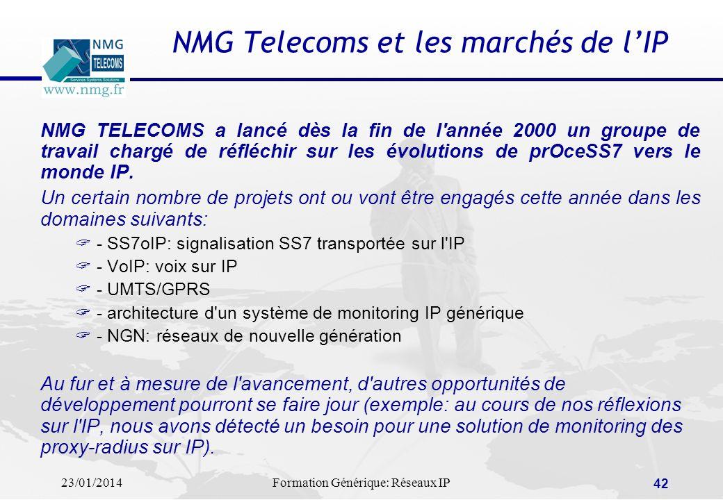 NMG Telecoms et les marchés de l'IP