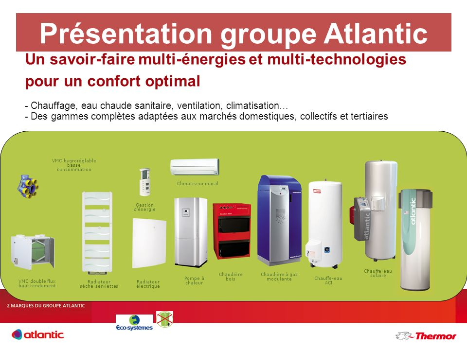 Présentation groupe Atlantic