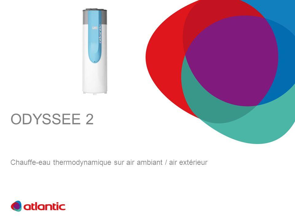 Chauffe-eau thermodynamique sur air ambiant / air extérieur