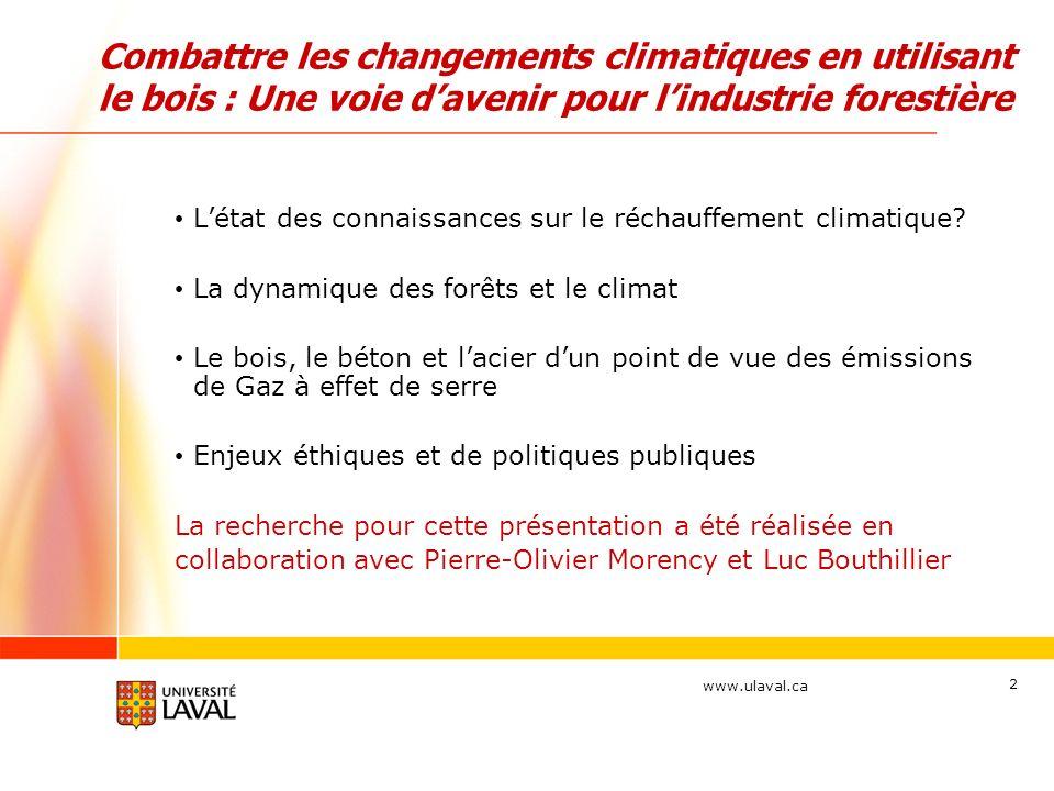 Combattre les changements climatiques en utilisant le bois : Une voie d'avenir pour l'industrie forestière