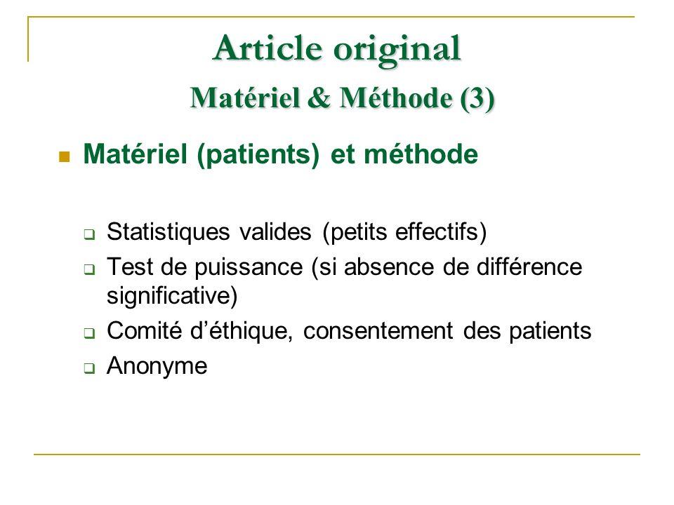 Article original Matériel & Méthode (3)