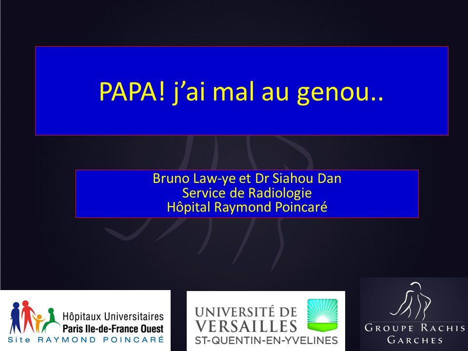 PAPA! j'ai mal au genou.. Bruno Law-ye et Dr Siahou Dan