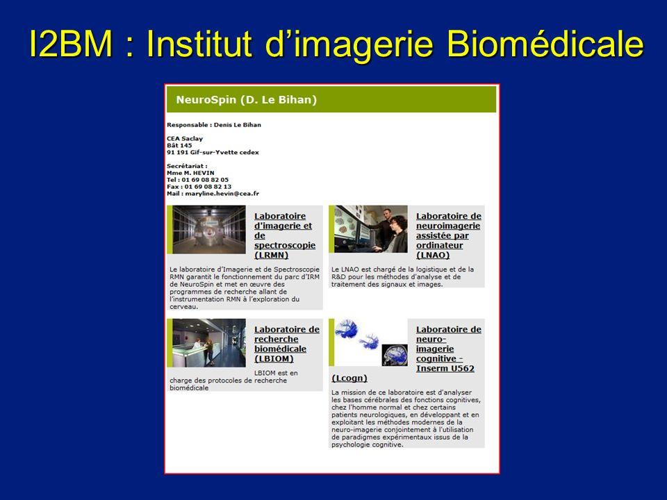 I2BM : Institut d'imagerie Biomédicale