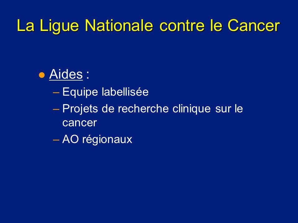 La Ligue Nationale contre le Cancer