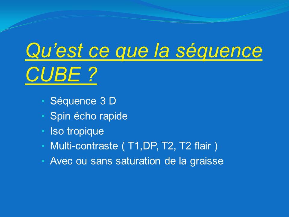 Qu'est ce que la séquence CUBE