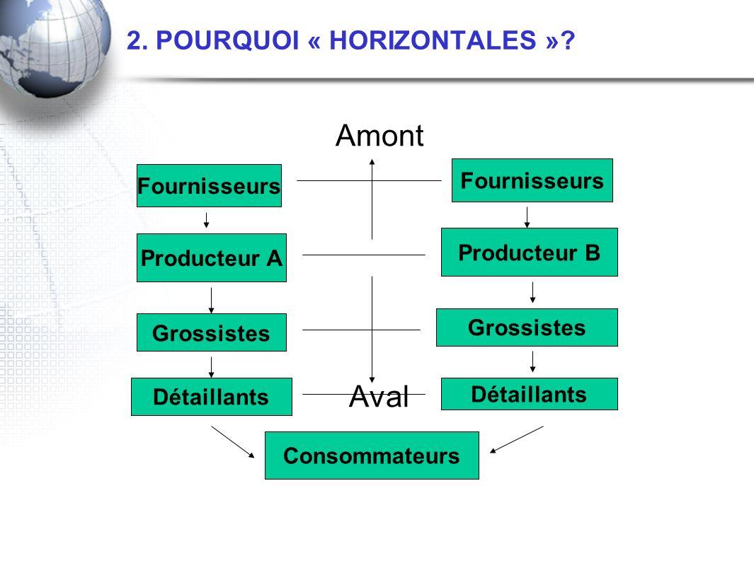 2. POURQUOI « HORIZONTALES »