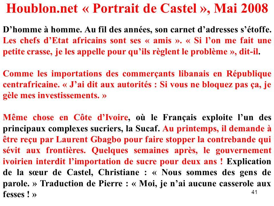 Houblon.net « Portrait de Castel », Mai 2008