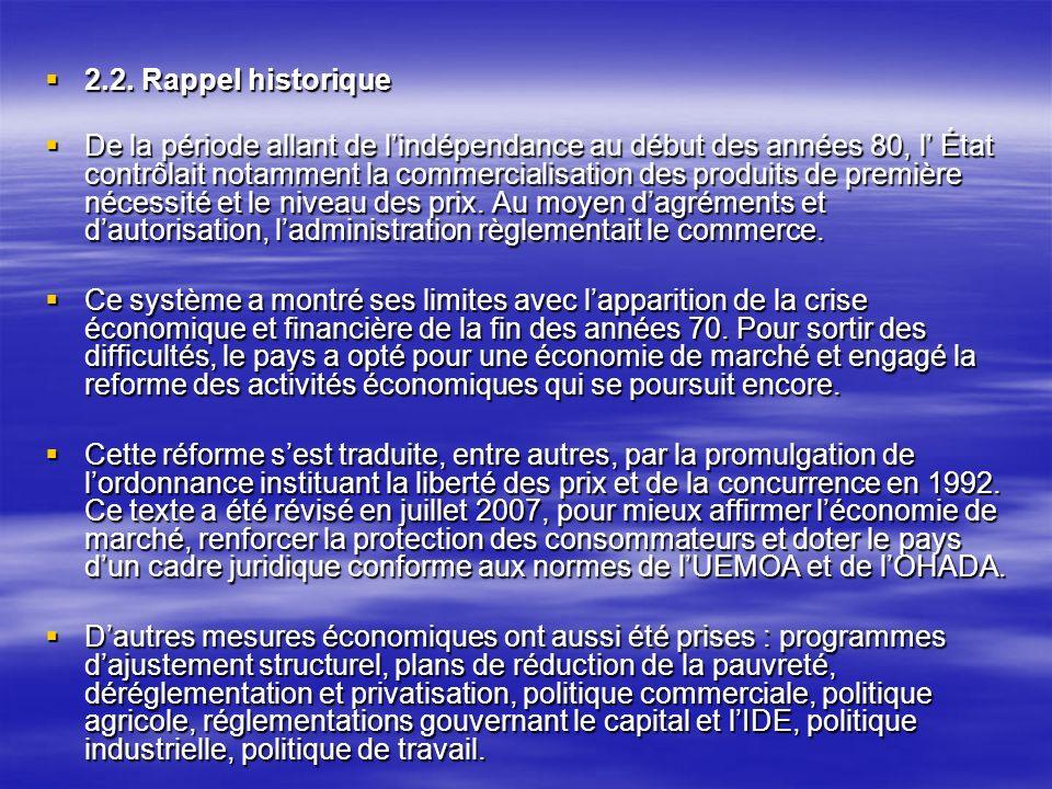 2.2. Rappel historique