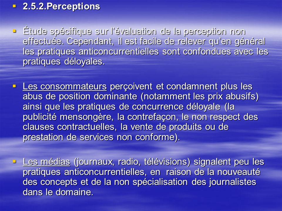 2.5.2.Perceptions
