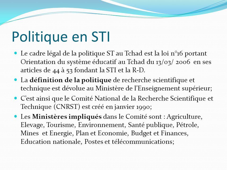Politique en STI
