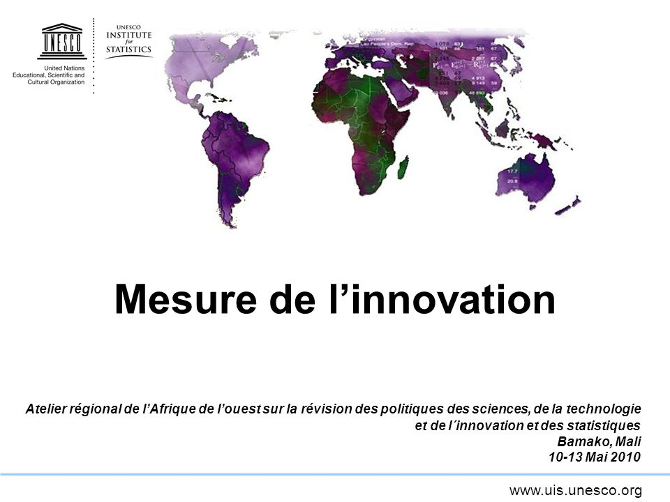 Mesure de l'innovation