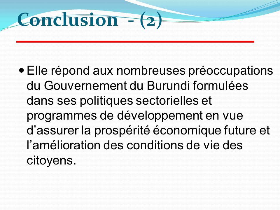 Conclusion - (2)