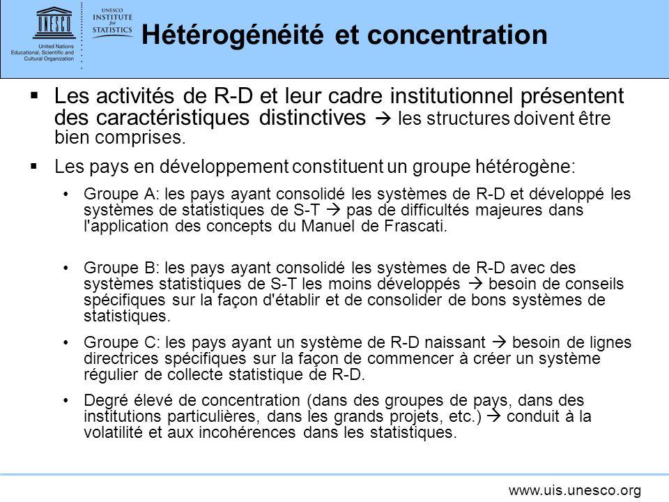 Hétérogénéité et concentration