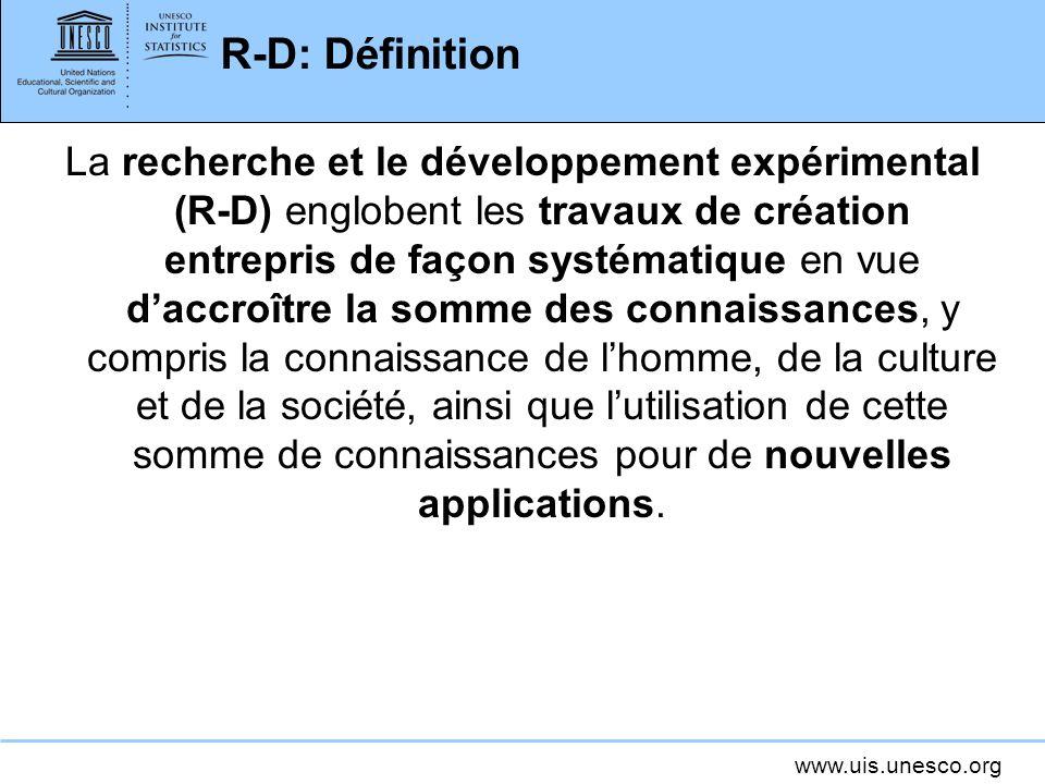 R-D: Définition