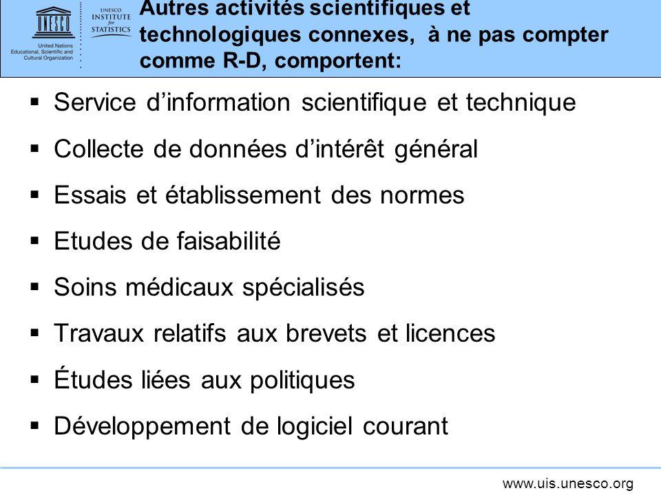 Service d'information scientifique et technique