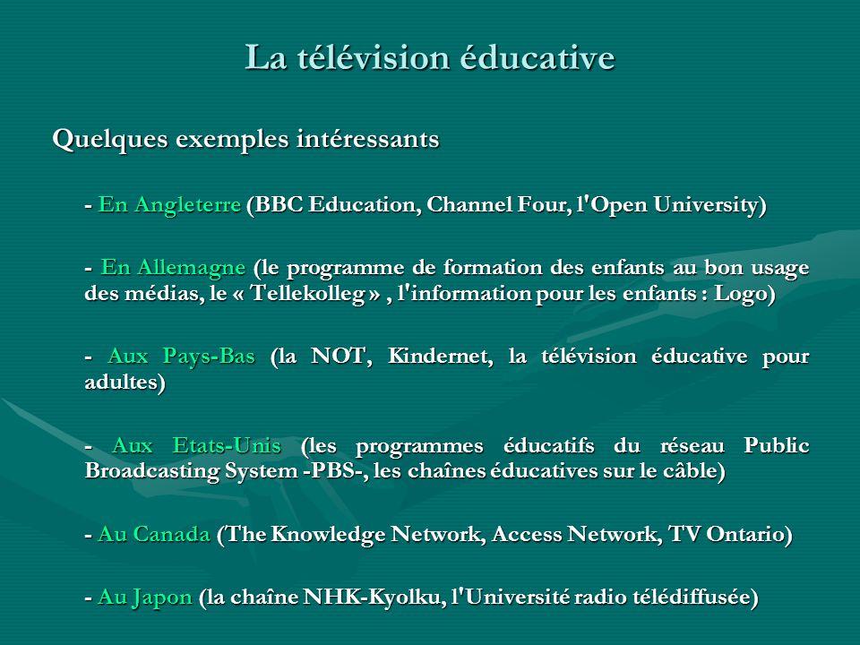 La télévision éducative