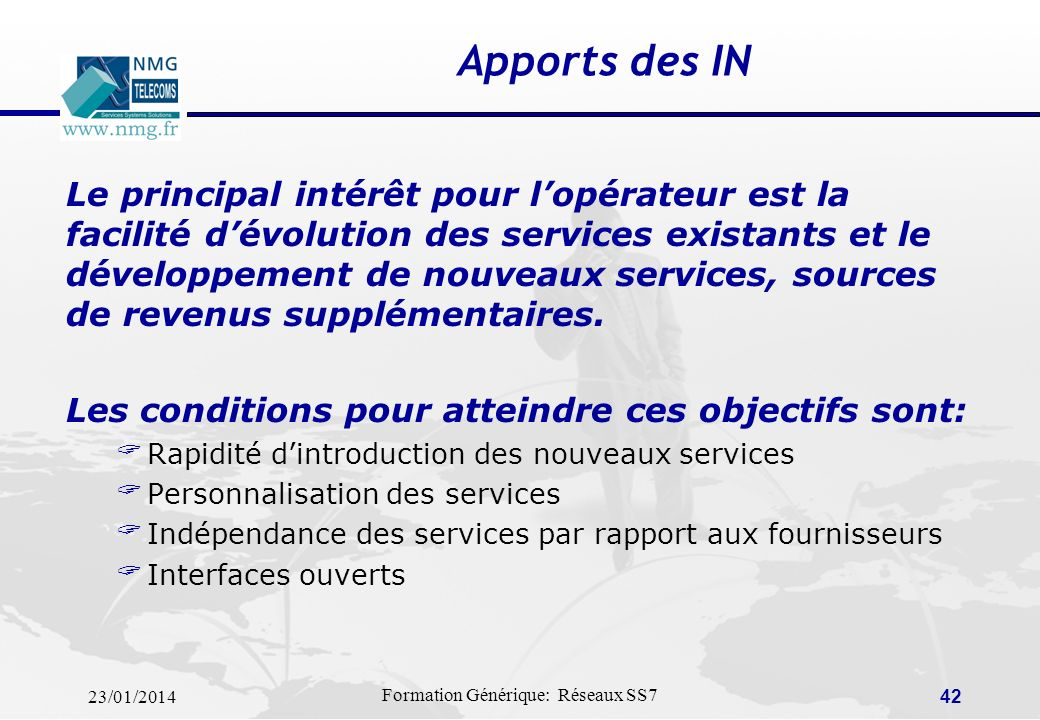 Apports des IN