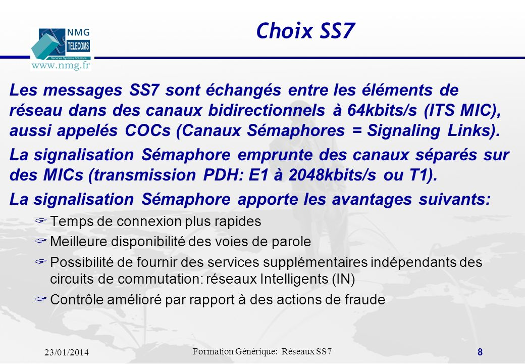 Choix SS7