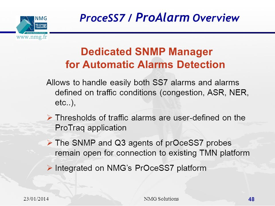 ProceSS7 / ProAlarm Overview