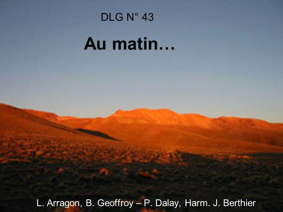 L. Arragon, B. Geoffroy – P. Dalay, Harm. J. Berthier