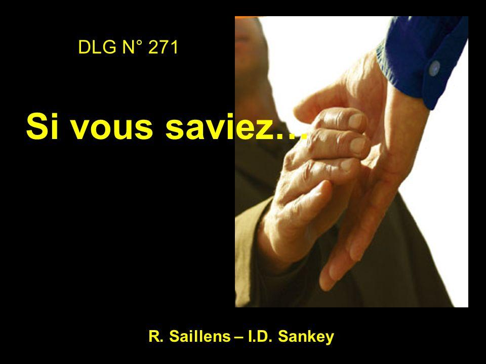 DLG N° 271 Si vous saviez… R. Saillens – I.D. Sankey