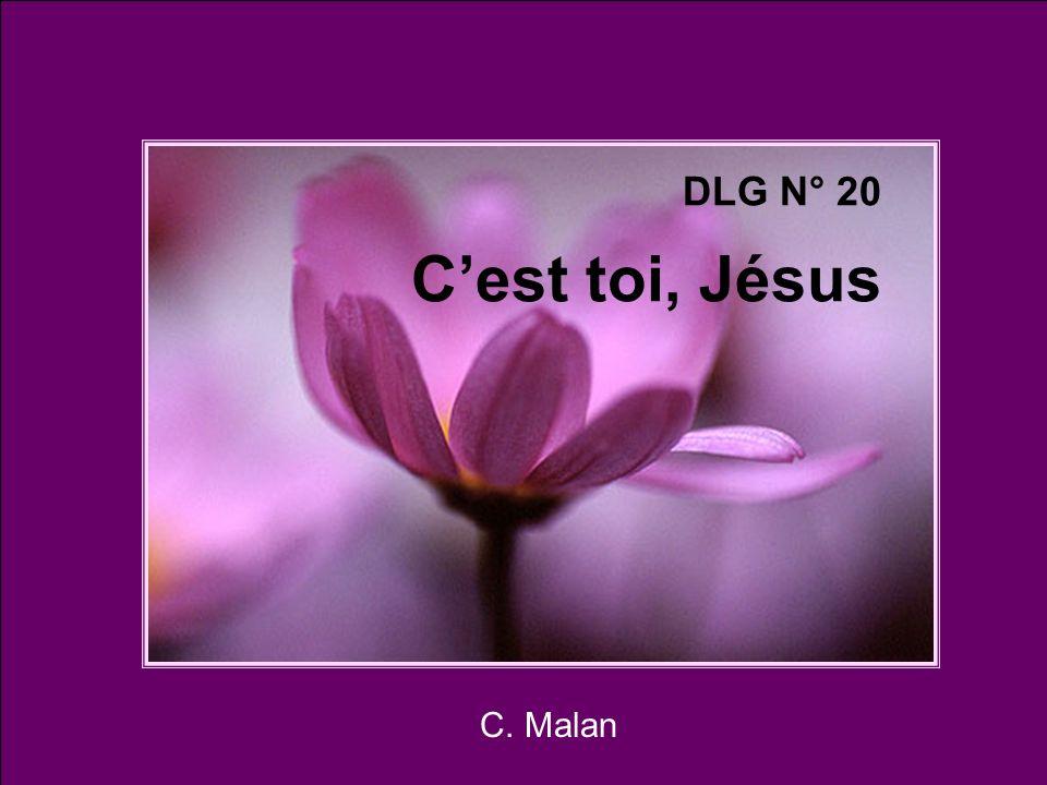 DLG N° 20 C'est toi, Jésus C. Malan