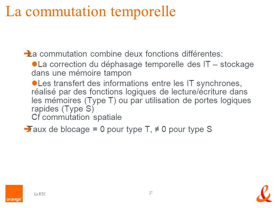 La commutation temporelle