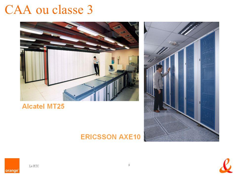 CAA ou classe 3 Le RTC