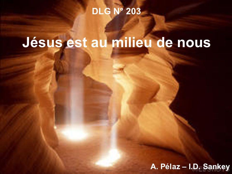 DLG N° 203 Jésus est au milieu de nous