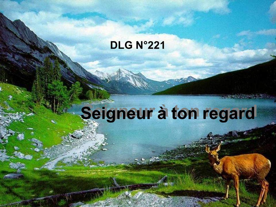 DLG N°221 Seigneur à ton regard
