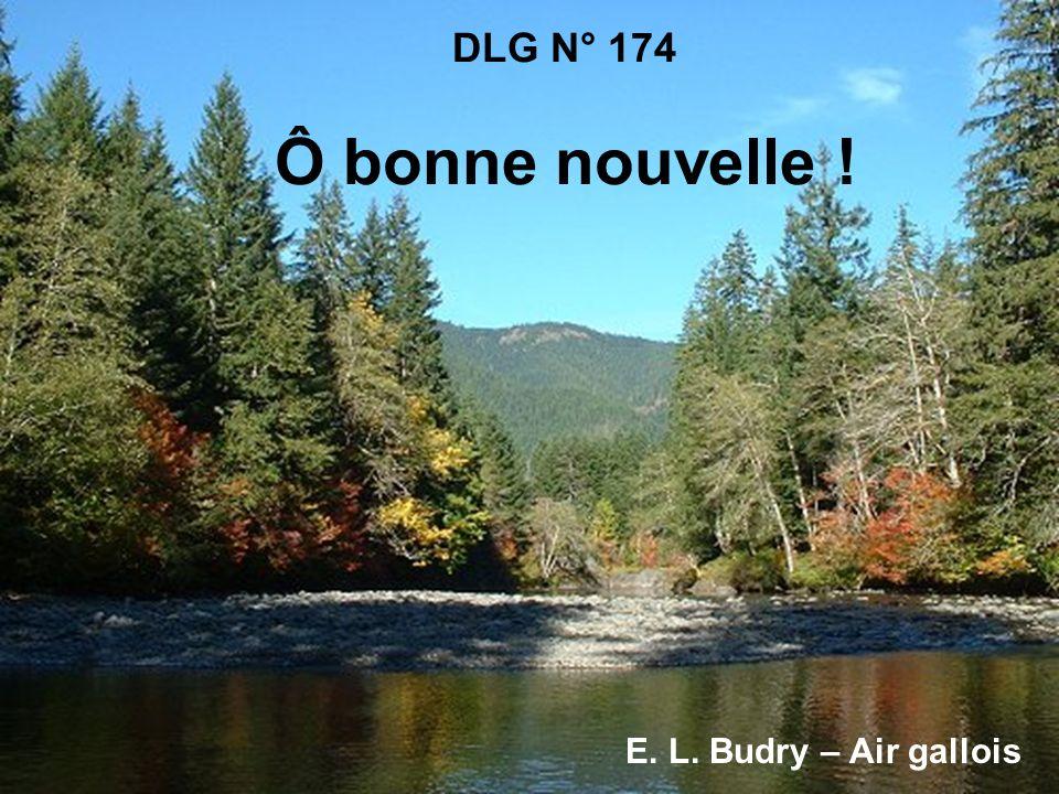 DLG N° 174 Ô bonne nouvelle ! E. L. Budry – Air gallois