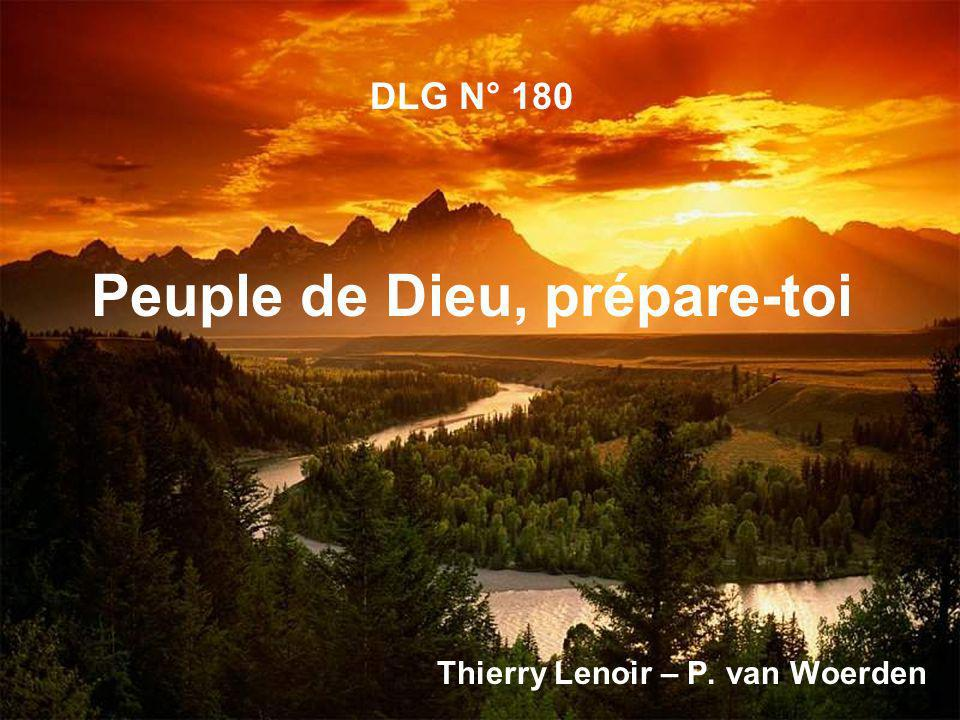 DLG N° 180 Peuple de Dieu, prépare-toi