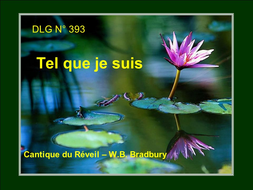 Cantique du Réveil – W.B. Bradbury